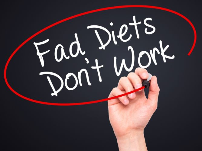 fad diets The 3 cons of fad diets here are the disadvantages that users can encounter in using fad diets 1 fad diets have low adherence for someone who is always eating outside and want to lose weight, following the meal plans stated in fad diets can be difficult.