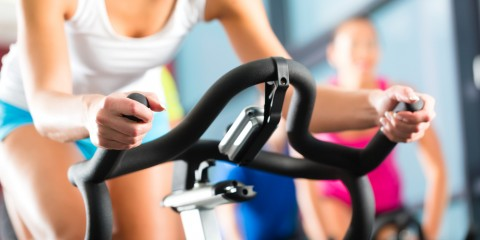 woman-on-bike-gym