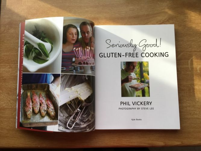 Win a copy of Phil Vickery's latest gluten-free cookbook! - Happy ...