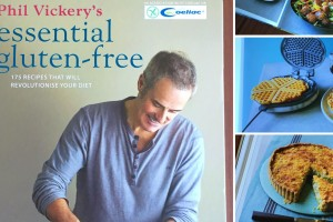 Win a signed copy of Phil Vickery's 'Essential Gluten-Free' book