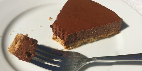 Choc orange cheesecake slice (2)