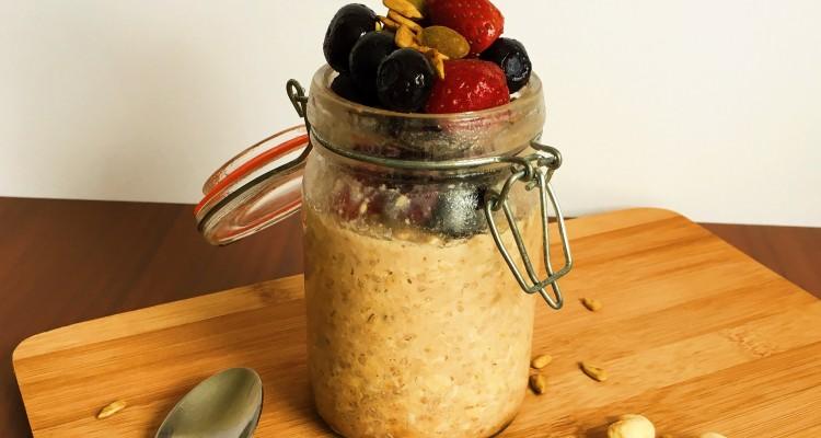 Cinnamon overnight oats (2)