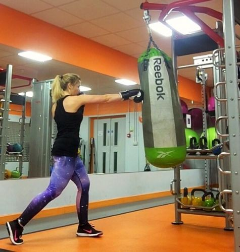 Punchbag-workout