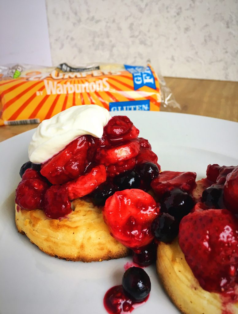 Gluten-free-sweet-crumpet-brunch-recipe-for-Newburn-Bakehouse